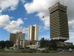 Столица Замбии - город Лусака